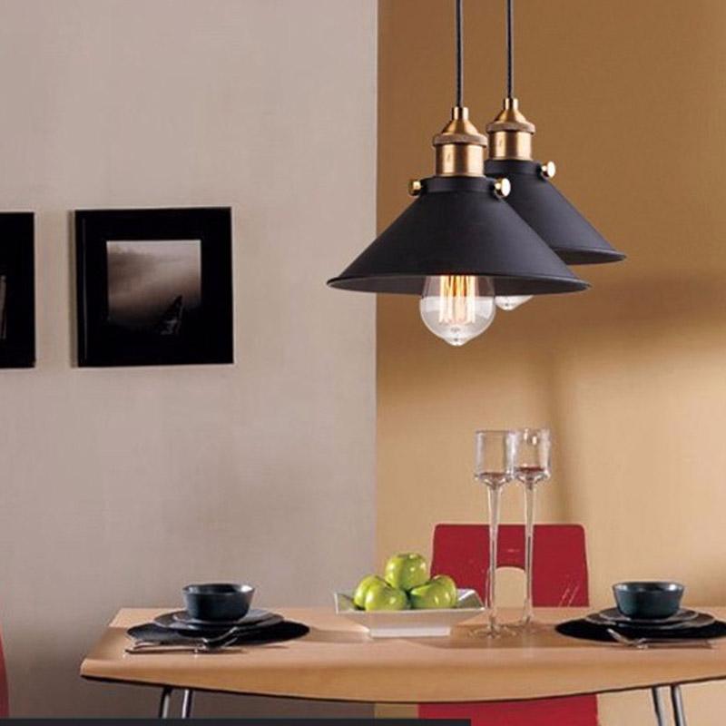 Lámpara colgante estilo industrial nórdico retro