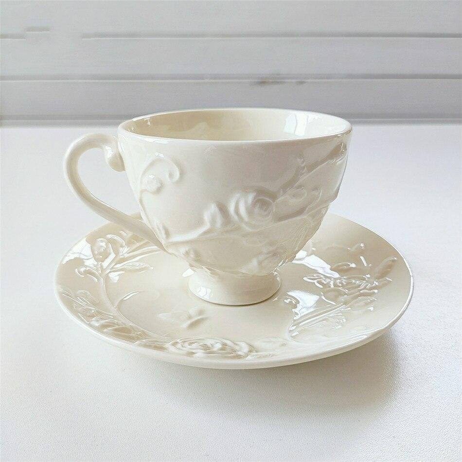 Taza de café platillo de regalo, tazas de café, plato creativo para taza de té, vajilla de cerámica, plato cerámico para cena, taza de café para fiesta