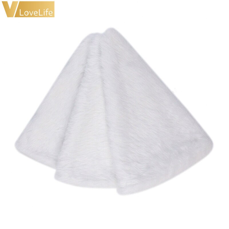 Falda de piel para decoración de árbol de Navidad, copo de nieve, árbol de Navidad, alta calidad, 2020